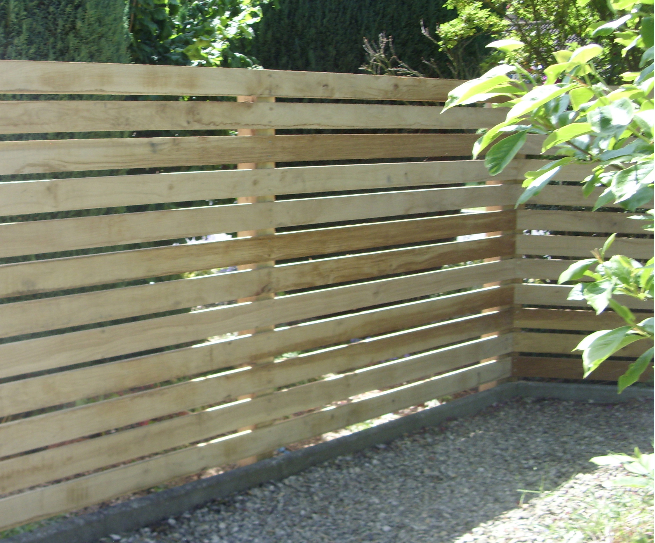 Open Timber Fencing