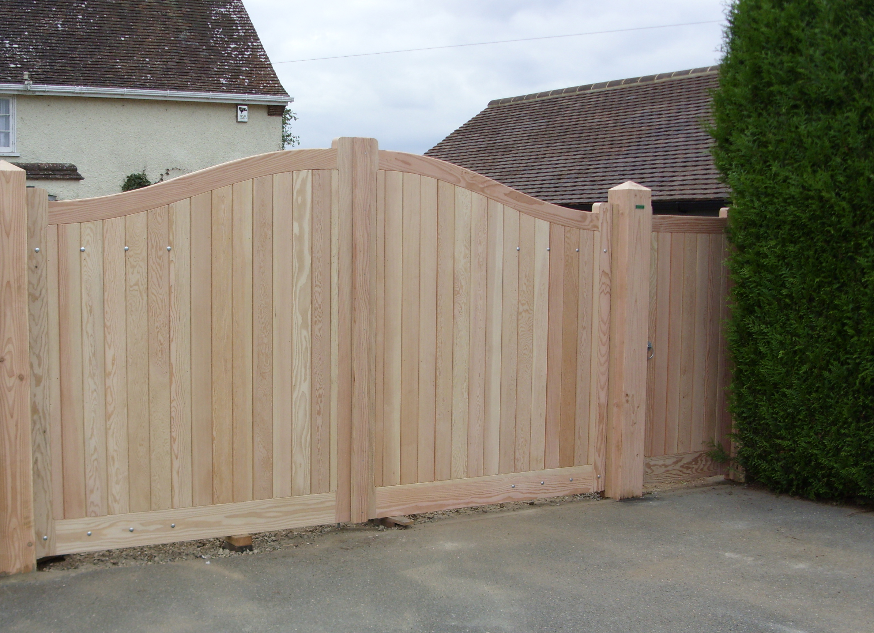 Douglas fir gates and posts