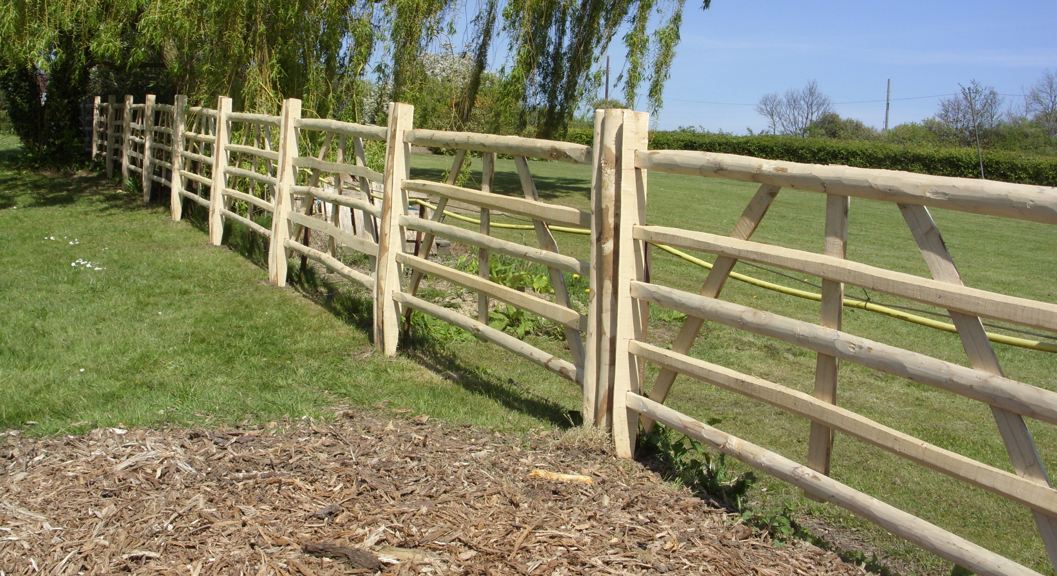 Woven Wire Fences And Gates