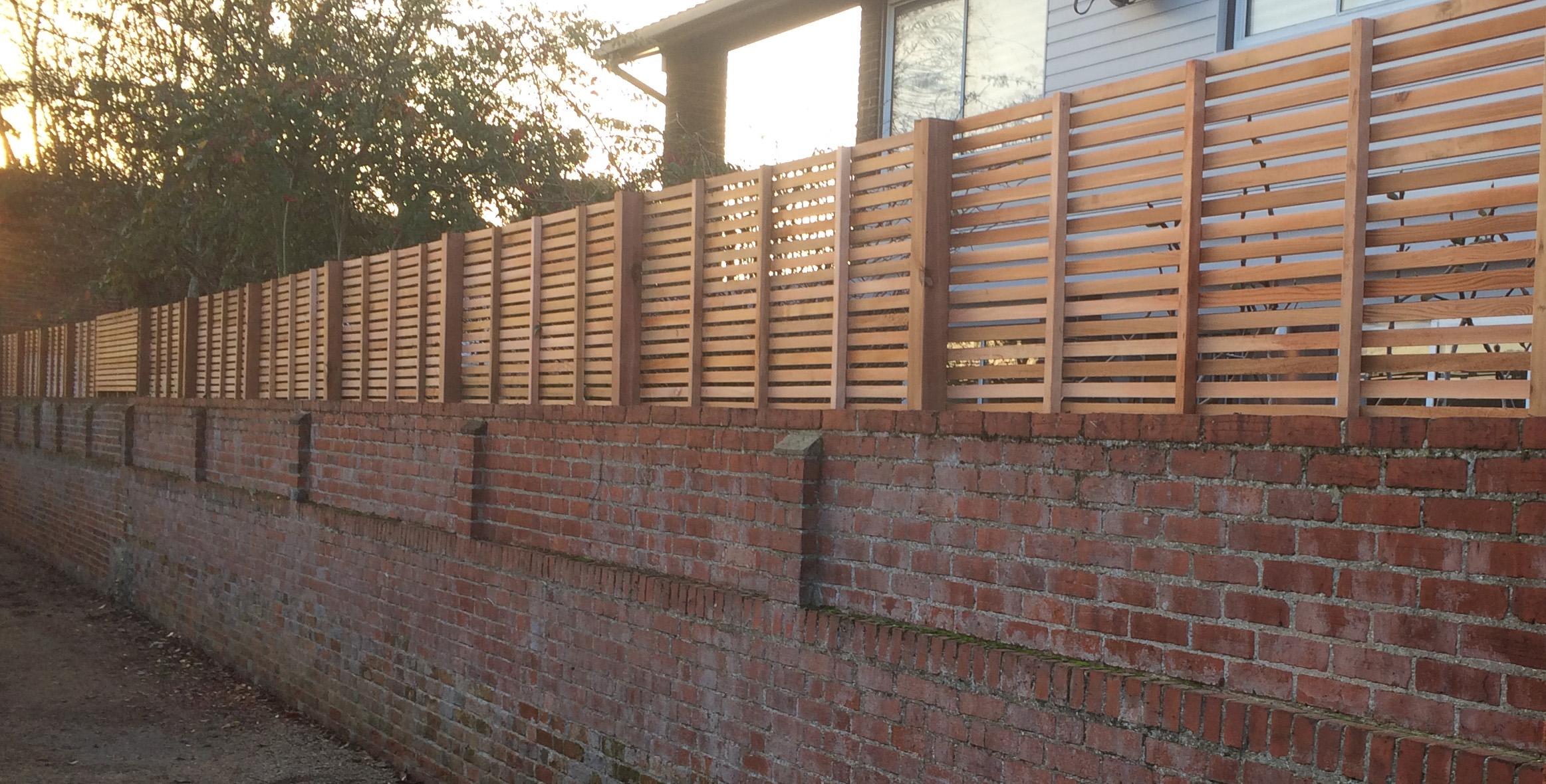 Wall Top Fencing